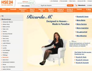 Ricarda M bei HSE24