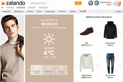 Zalando Outfit-Berater