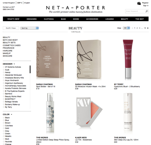 Net-a-Porter Beauty