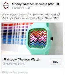 Facebook Buy-Button