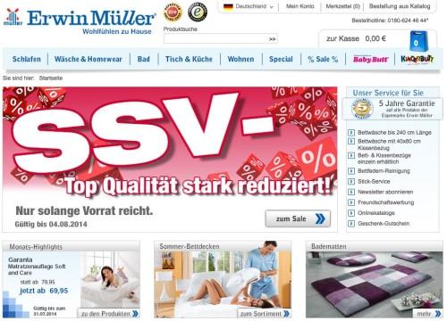 Versandhaus Erwin Müller