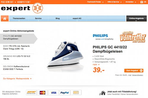Expert Online-Shop