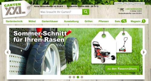 GartenXXL in Österreich