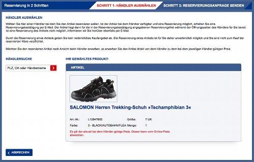 Intersport Online-Shop