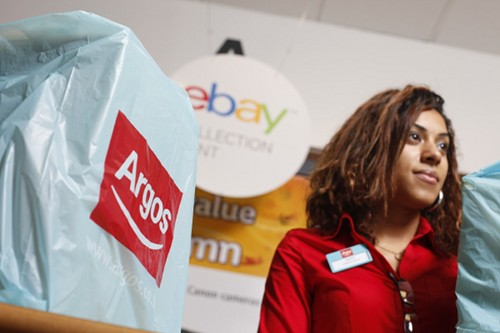 eBay and Argos