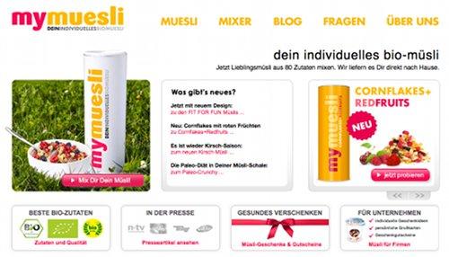 myMuesli.com