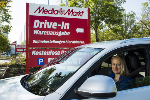 Media Markt Drive-In-Station