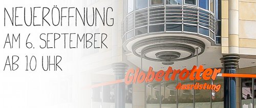 Globetrotter Filiale in Stuttgart