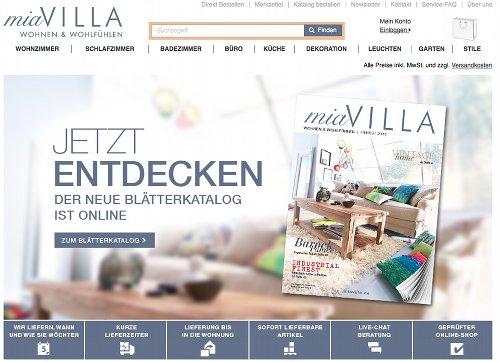 MiaVilla Startseite