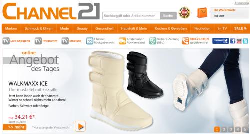 530bf2b34b5c59 Teleshopping  Klingel baut Kooperation mit Channel21 aus ...