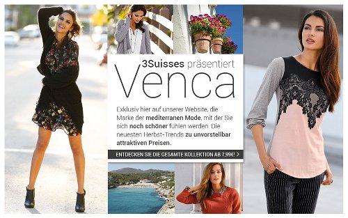 3Suisses präsentiert Venca