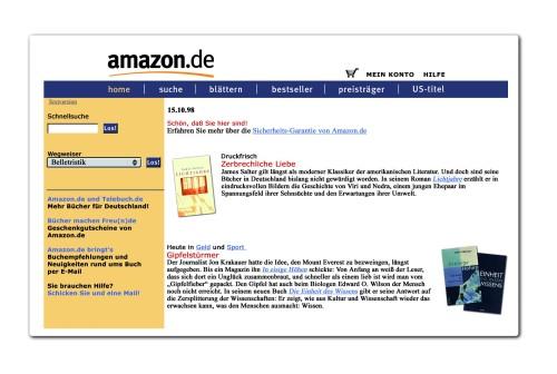 15 Jahre Amazon.de