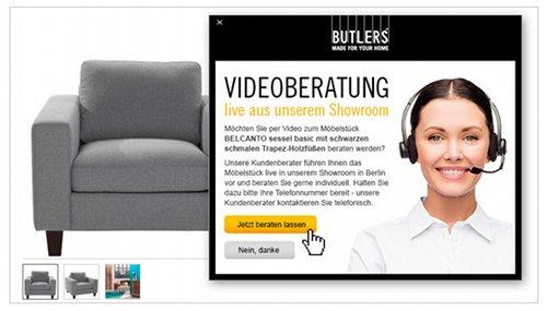 Butlers Video-Beratung