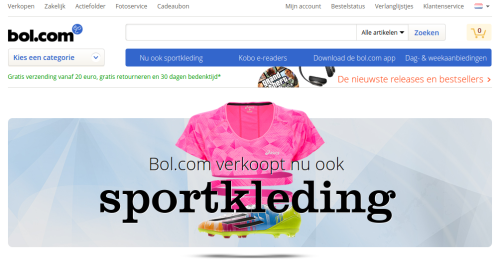 Sportswear bei Bol.com