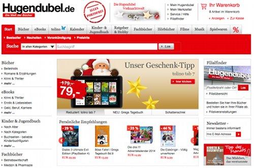 Hugendubel Online-Shop
