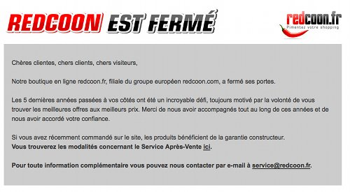 Redcoon in Frankreich