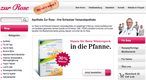 Rose Online-Shop