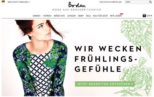 Filialexpansion boden will hierzulande offline verkaufen for Johnny boden deutschland