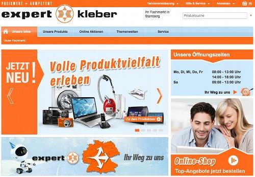 Neue Expert-Homepage