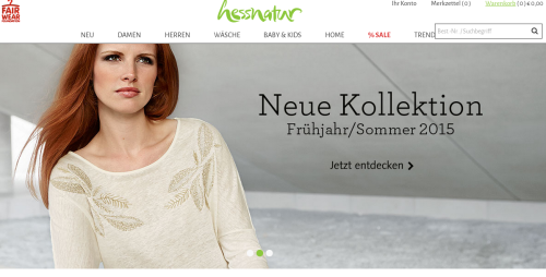 Hessnatur Online-Shop