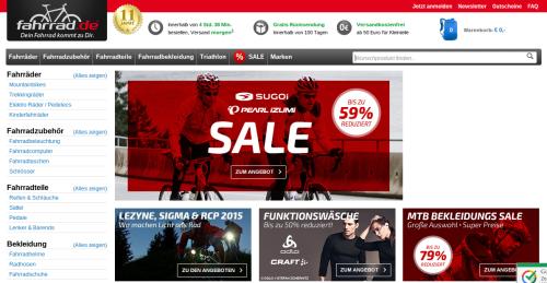 Fahrrad.de Online-Shop
