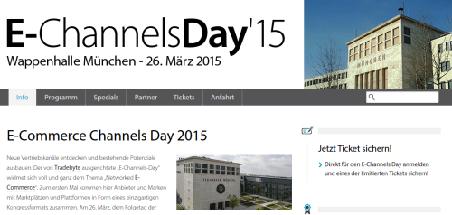E-Commerce Channels Day