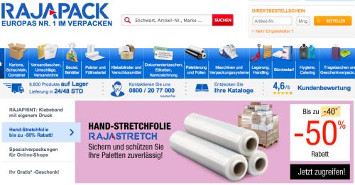 Rajapack Online-Shop