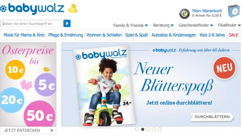 Babywalz Online-Shop