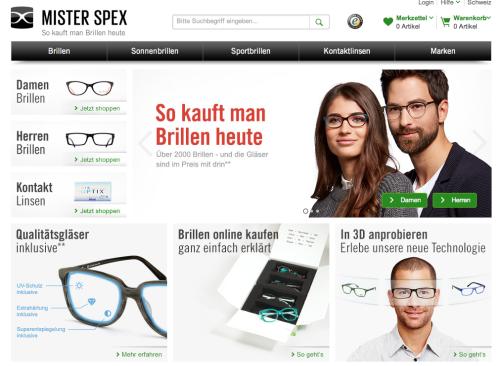 Mister Spex in der Schweiz