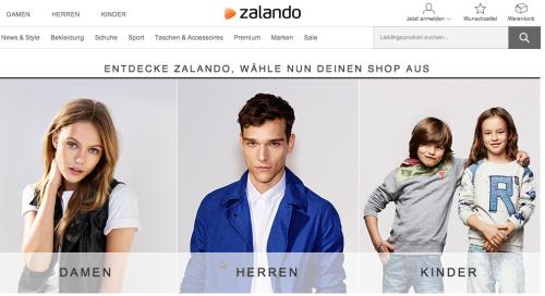 Zalando Online-Shop