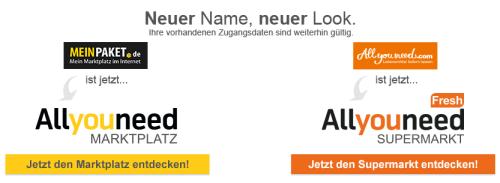 Neuer Name für MeinPaket.de