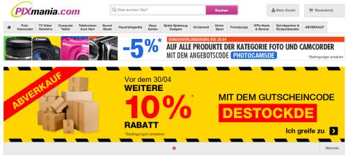 Pixmania Online-Shop