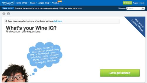 Naked Wines Online-Shop
