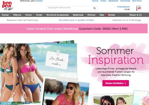 Bonprix Online-Shop