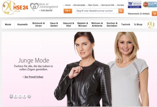 HSE24 Online-Shop