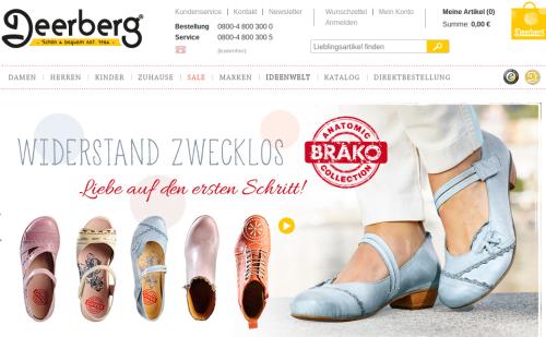 Deerberg Online-Shop