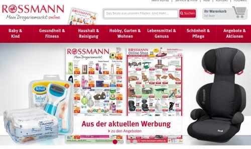 rossmann online shop e commerce f r entscheider. Black Bedroom Furniture Sets. Home Design Ideas