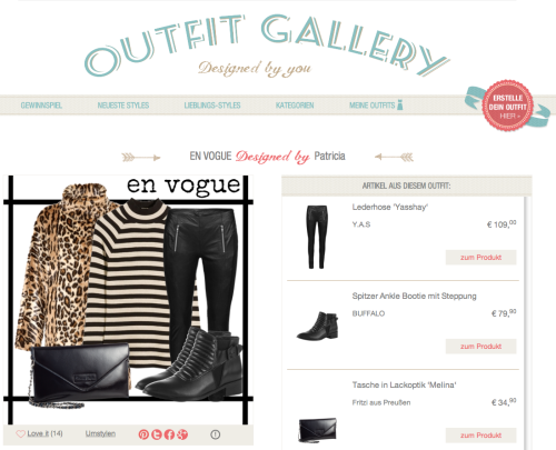 Outfit Gallery Aboutyou.de