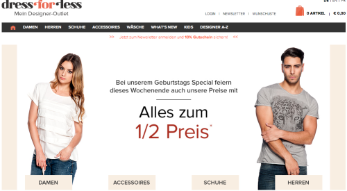 Dress for Less GmbH