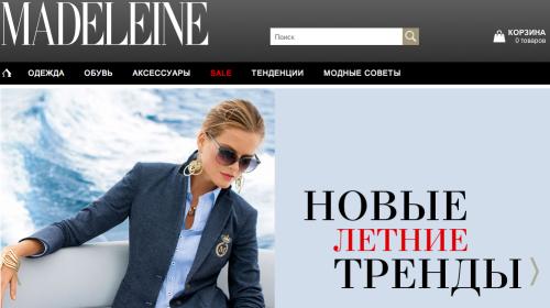 Madeleine in Russland
