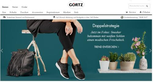 Görtz Online-Shop