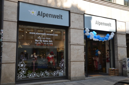 Alpenwelt Pop-Up-Store