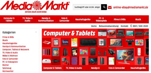 Media Markt Store eBay.de