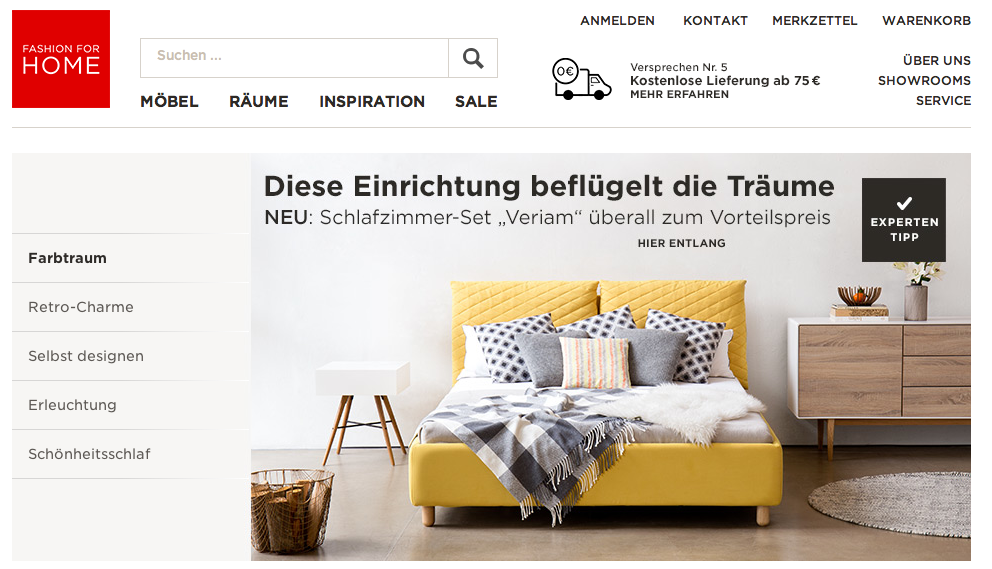 Online Möbelhandel Fashion For Home Geht An Home24 Neuhandelnde