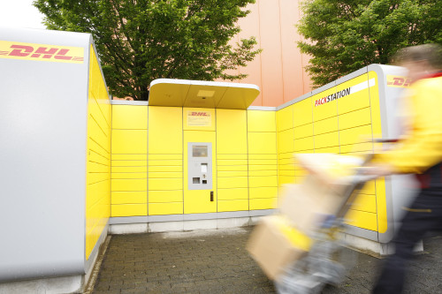 logistik dhl expandiert mit packstation nach sterreich e commerce f r. Black Bedroom Furniture Sets. Home Design Ideas