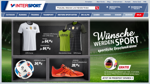 Intersport Online-Shop