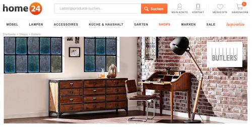 Butlers bei Home24.de