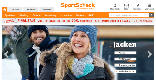 SportScheck Online-Shop