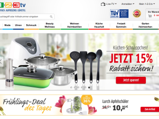 1-2-3.tv Online-Shop