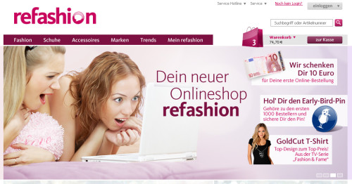 Beim ersten Start war Refashion.de nur ein Jahr aktiv (Bild: Otto Group)